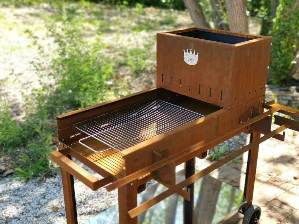 barbecue a legna flipper